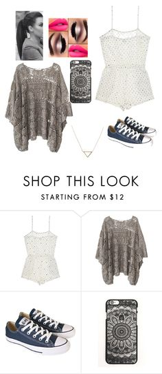 Summer Day by addisonlaylor on Polyvore featuring Mes Demoiselles..., Only Hearts, Converse and Banana Republic