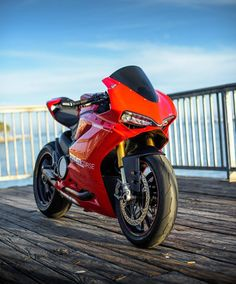 Motorcycles, bikers and more — Ducati 1299 Panigale