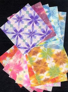 Itajime Hand Made Washi Paper