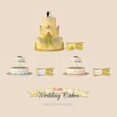 One Billion Pixels: Edible Wedding Cakes + Bonus