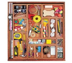 Storage Ideas for Small Spaces -  From the junk drawer to the electronics bin, tackle those tiny areas of your home with these easy organizing tricks