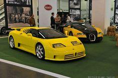 Bugatti eb110 SS & Veyron