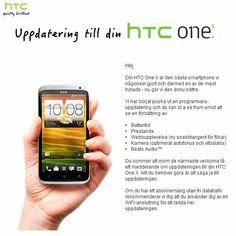 Härom dagen skickade HTC ut uppdatering till 2.17.401.2 för HTC One X, som innehåller Android 4.0.4 & Sense 4.1. Uppdateringen sägs åtgärda en hel del brister, tex laggningen när man har...