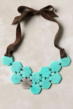 I've never seen a necklace like this! Anthropologie.