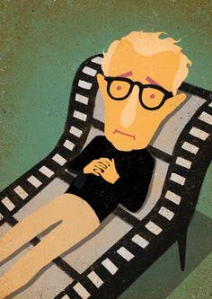 -Davide Bonazzi- 'Woody Allen'