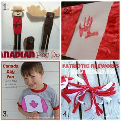 Canada Day Activities and Crafts - One Time Through Canada Christmas, Christmas Tree, Red And White Flag, Sink Or Float, Celebrate Good Times, Clothes Pegs, Red Food Coloring, Thinking Day, Canada Day