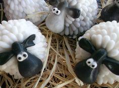Irish Sheep Soap - Wedding favor, party favor, soap favor on Etsy, £5.25