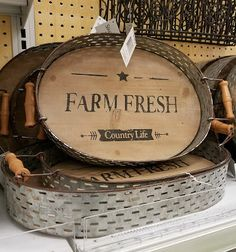 Journeys with Juju: Farmhouse-style Decor at the Military Exchange!