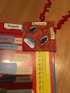 "* Colour Rudolph's nose the colours of the target language country's flag. * Create a take home gift – a "" Rudolph Book Mark Corner"" French For Beginners, Xmas Greetings, Home Gifts, Languages, Bookmarks, Colours, Books, Idioms, Libros"