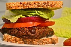 WOW this beats frozen veggie burgers hands down! So luscious, so yummy, so healthy!
