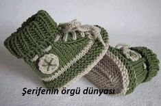 Baby Knitting Patterns Slippers Knitting Tutorials – Knitting Pattern Baby Shoe 'My First Sneaker' – a Desi …Knitting Patterns - Knitting Sample Child Booties 'My First Sneaker' - a novel product by piccolo_popolo on DaWandaThis is a video tuto Crochet Boots Pattern, Baby Booties Knitting Pattern, Knitted Booties, Baby Knitting Patterns, Knitting Tutorials, Crochet Patterns, Baby Boy Booties, Crochet Baby Booties, Baby Boots
