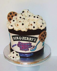Ben and Jerry's Cake