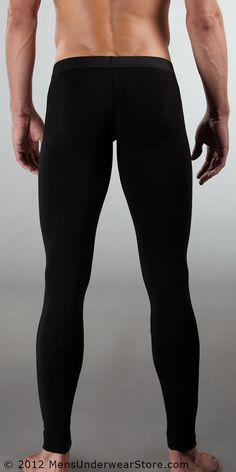 Winter Men's Thermal Bamboo Underwear Panties Sexy Smooth Long ...