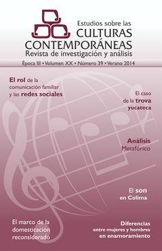 Estudios sobre las culturas contemporáneas nº 39 (2014)