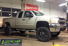 Lifted 2500 HD  by Venom Motorsports in Grand Rapids MI . Click to view more photos and mod info.