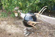 Chicken Yard Art