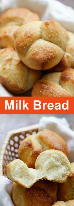 Milk Bread – Japanese-inspired milk bread that is cotton soft, sweet and delicious. Using roux method, this milk bread recipe is a keeper   rasamalaysia.com
