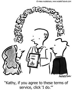 (Please do not re-pin without permission from Andertoons) - Humor helps brides remember your brand http://brideappeal.com/_blog/blog/post/comic-relief-online-visual-marketing-for-bridal-businesses/