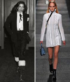 Then and Now: These Sexy '70s Trends Are Making a Comeback - The Neck-Tie Blouse  - from InStyle.com