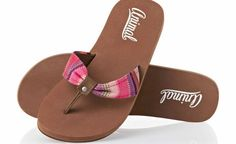 Animal Womens Animal Sienna Flip Flops - Tan Womens flip flops