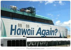 Hawaii Superferry Poised for a Comeback