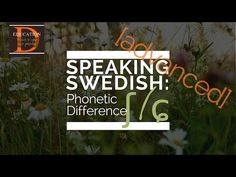 SPEAKING SWEDISH [advanced]: Phonetic Difference ʃ and ɕ - YouTube