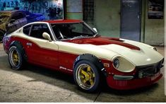 Datsun 240z, Japanese Sports Cars, Japanese Cars, My Dream Car, Dream Cars, Nissan Sunny, Nissan Z Cars, Diy Go Kart, Hot Rides