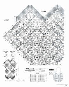 Вязание Вязание крючком - Графика: Кошелек крючком
