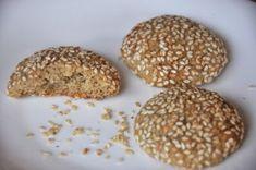 Fursecuri cu susan, de post, Rețetă Petitchef Sausage, Muffin, Cookies, Chocolate, Breakfast, Desserts, Food, Life, Sweets