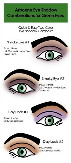 Arbonne makeup combinations for green eyes. www.kristenfroehlich.arbonne.com