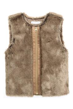 Gilet in finta pelliccia | H&M