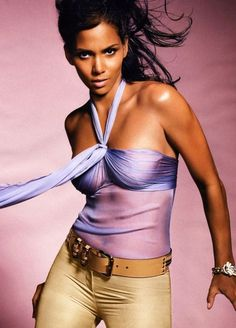 Halle Berry for Versace