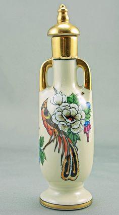Noritake Art Deco Perfume Bottle