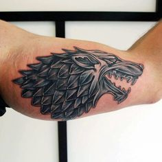 Fantastic Game Of Thrones Tattoo On arm for boy