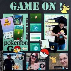 Join the fun with this fun Pokemon Go layout!