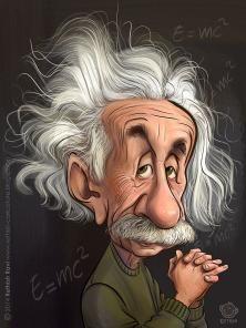 Albert Einstein by rethish ravi