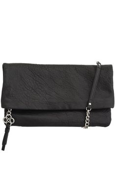 Waverly Three Way Bag can be worn long or folded with the removable curbchain strap, or as a large clutch. All handbags are finished with our signature clover lining. {Stella & Dot} (LGBT friendly business too!)