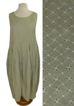 HIGHLIGHT°°Ballon-Kleid von COCON COMMERZ PRIVATSACHEN°°Lagenlook   green fashion slow fashion since 30 years hand dyed in hamburg silk cashmere wool cotton linen vintage look