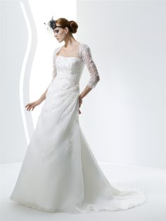 AFN sexy long sleeves lace white wedding gowns