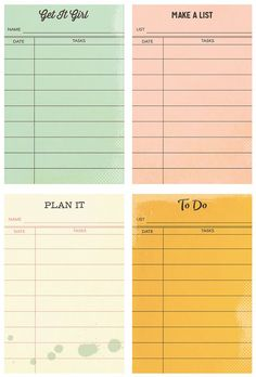 Simple Stories - Carpe Diem Collection - The Reset Girl - Sticky Notes