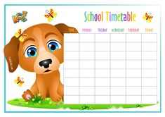 FREE School Timetable and  Weekly Planner. #schools #timetable #weekly #planner #printable #kids #backtoshool #free #123kidsfun Timetable Template, School Timetable, Back To School Worksheets, School S, School Ideas, Weekly Planner, Kids Fun, Cool Kids, Free Printables