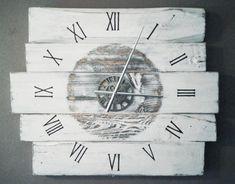 Basics: Grote houten wandklok | Karin's Deco Atelier