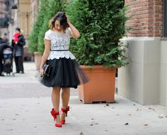 Red & Tulle
