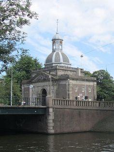 Muiderpoort, hoek Sarphatistraat, Plantage middenlaan. Amsterdam