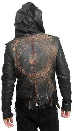 254b8d14d JUNKER DESIGNS - DELUXE Leather Hooded Jacket - J Ransom Muži V Koži, Pánske  Sako
