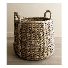 "crate and barrel ""basay"" basket"
