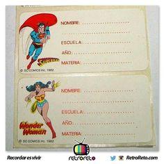 ¿Recuerdas estas etiquetas?