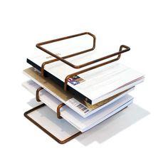 wire desk organizer