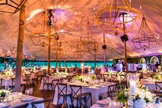 Love at First Light: The Importance of Wedding Lighting #hmrdesigns #Chicago #outdoor #weddings #tents #lighting #event #eventdesign
