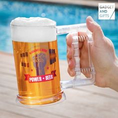 Gadget And Gifts Power Beer Mug